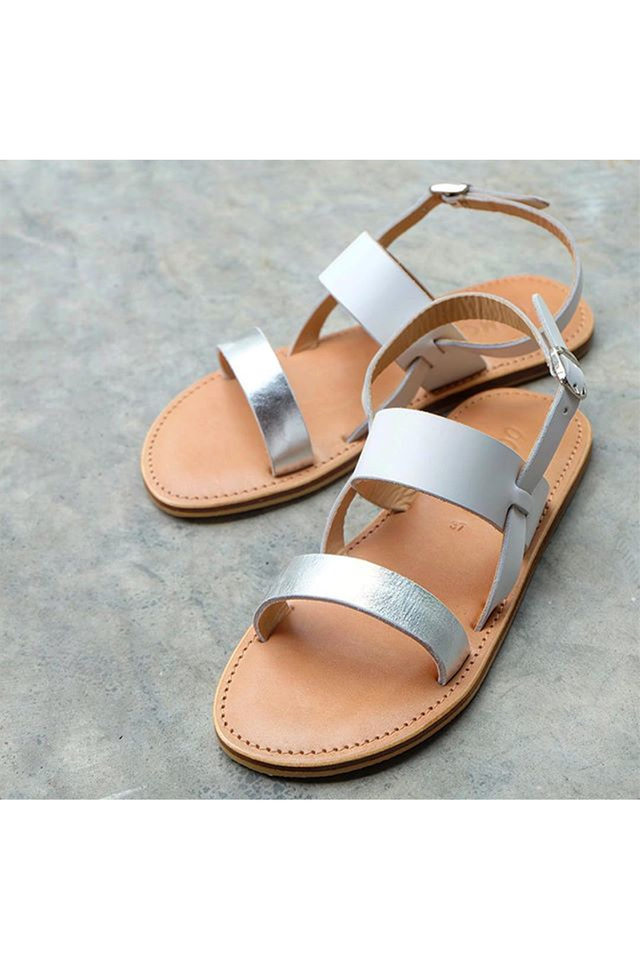 Ena Sandals In Silver