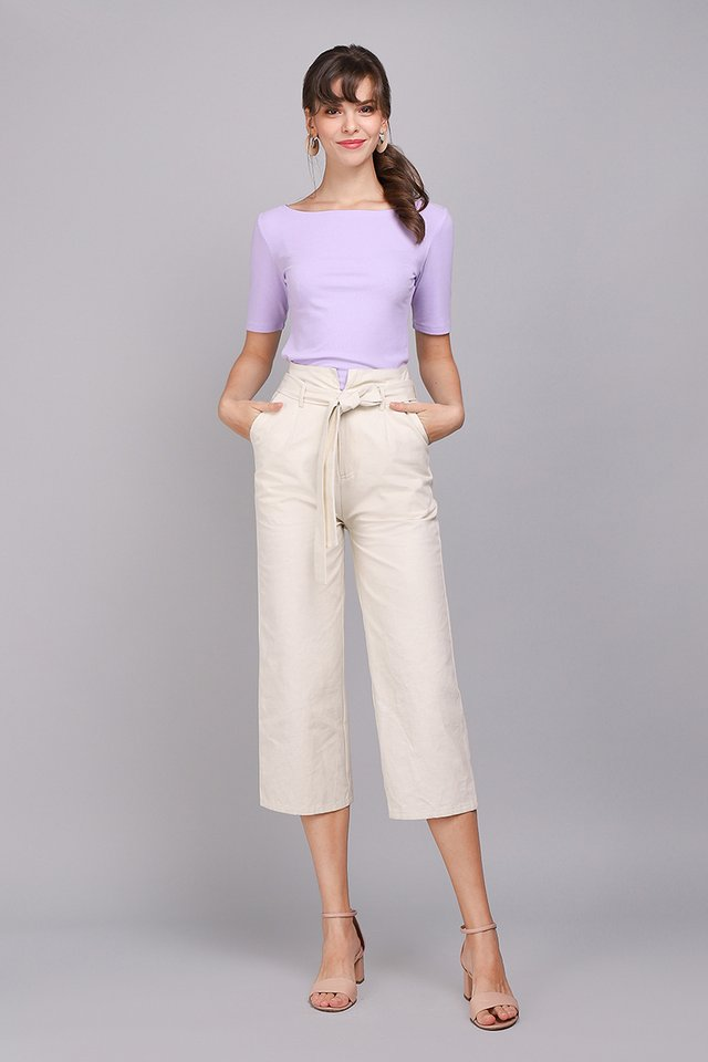 Colette Top In Soft Lilac