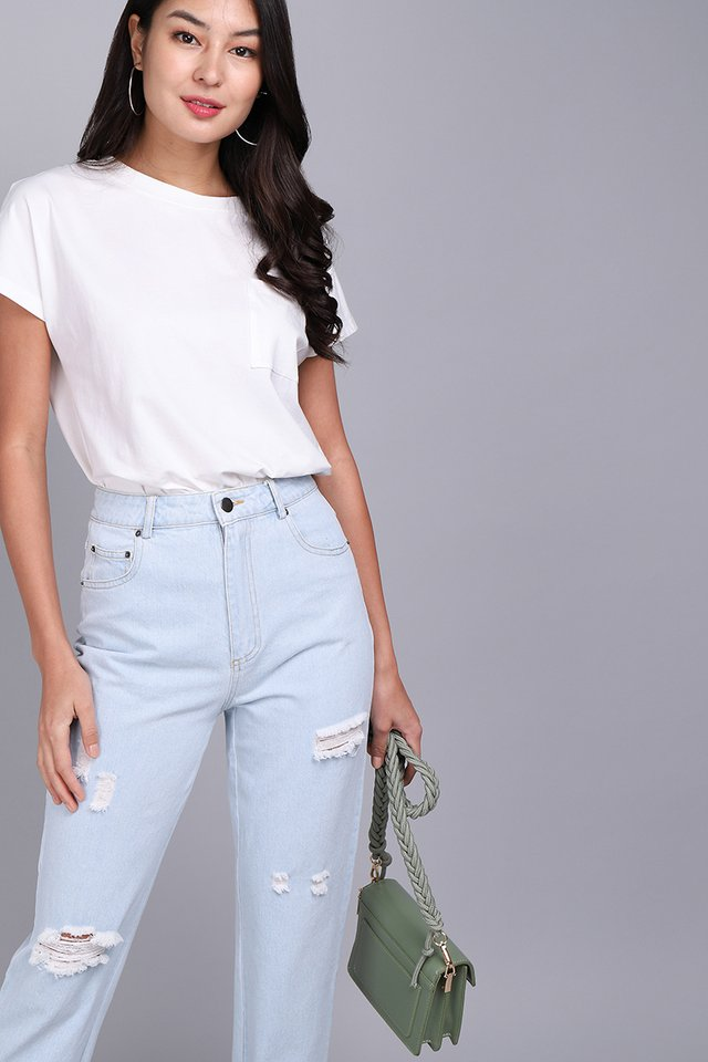Issac Jeans In Light Wash