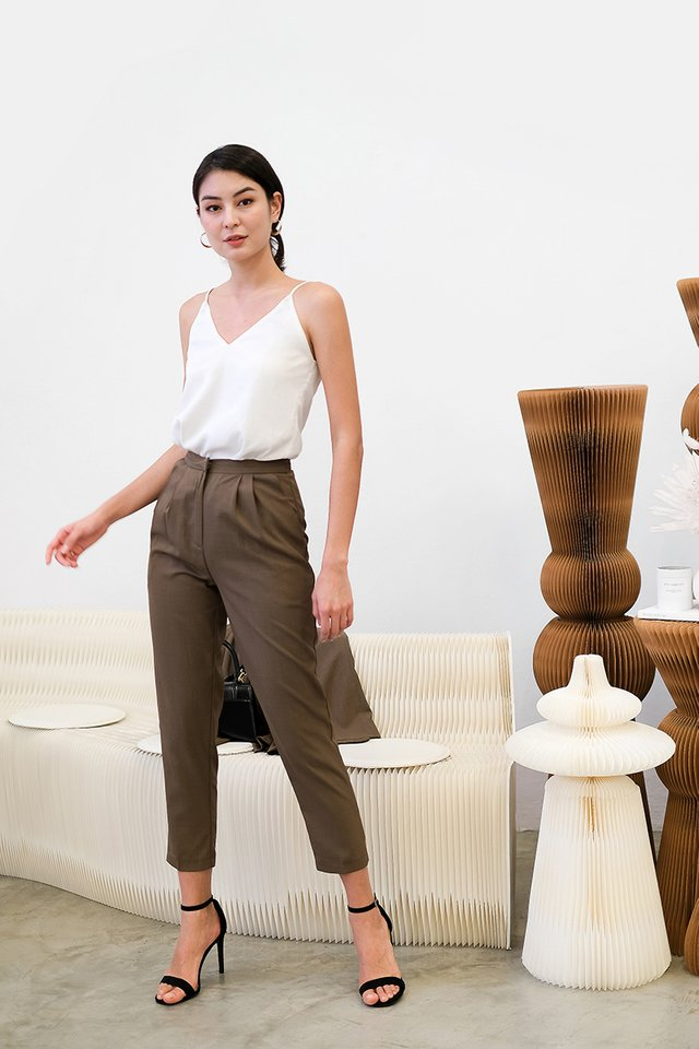 Andre Pants In Coffee