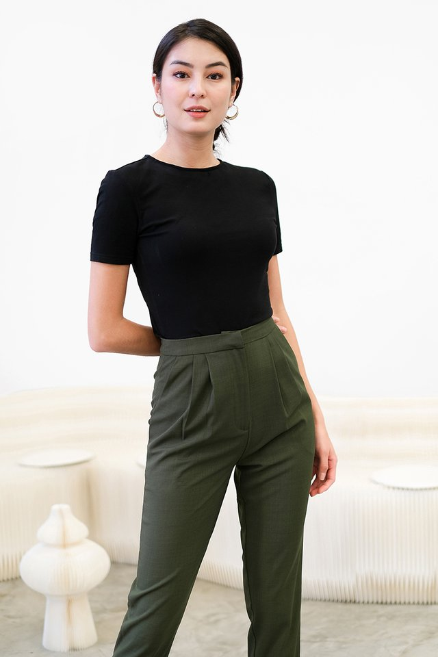 Andre Pants In Olive Green