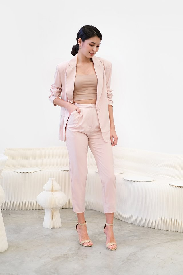 Freya Jacket In Powder Pink