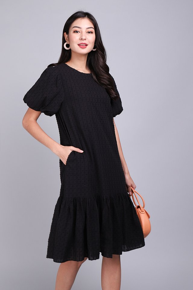 Adoringly Yours Dress In Classic Black