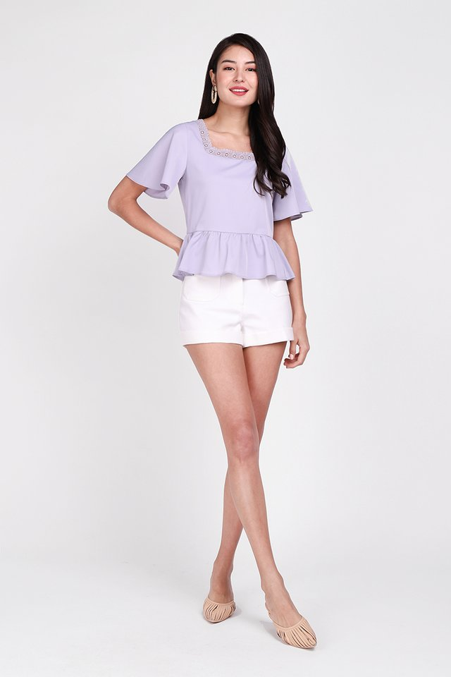 Favourite Novel Top In Lavender