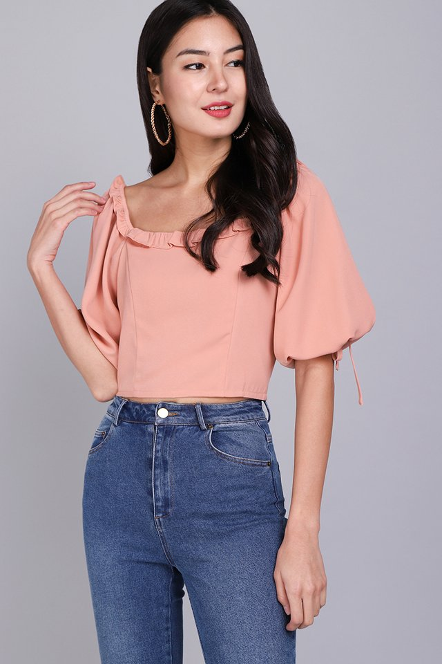 Kindred Hearts Top In Apricot