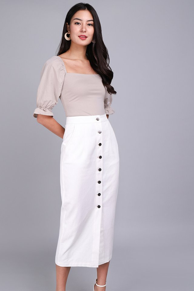 [BO] Alexander Skirt In Classic White