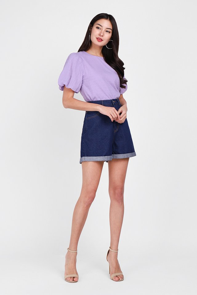 Maia Top In Lavender