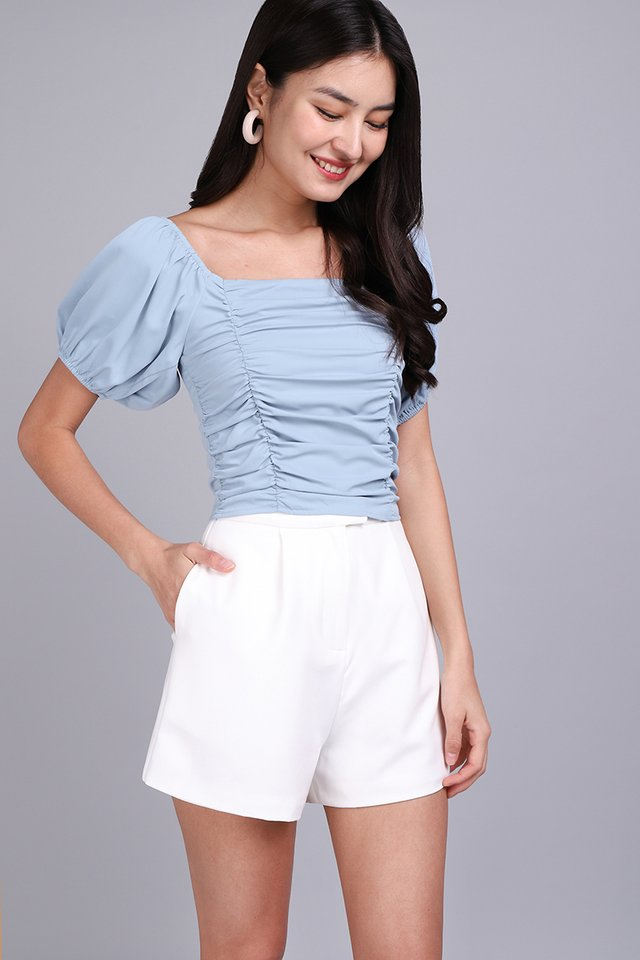 [BO] Highly Adored Top In Muted Blue
