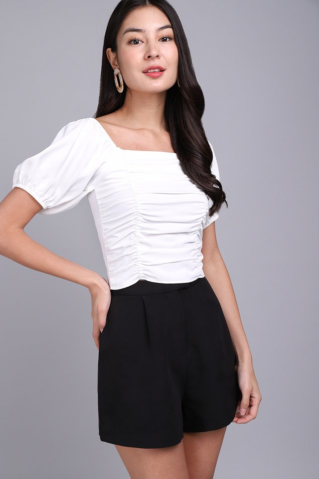 Highly Adored Top In Classic White