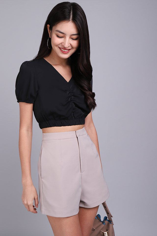 Lasso My Heart Top In Classic Black