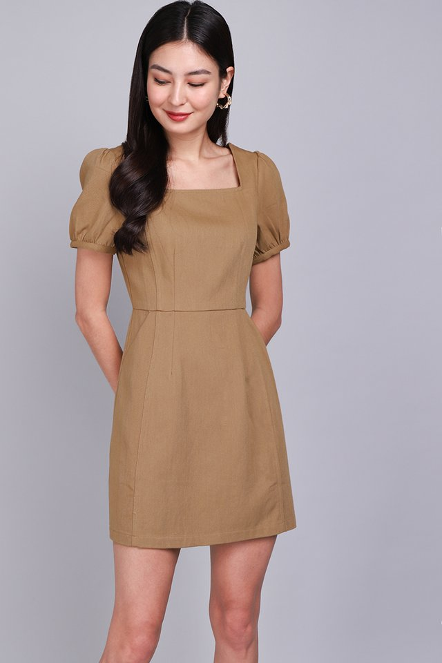 My One And Only Dress In Camel
