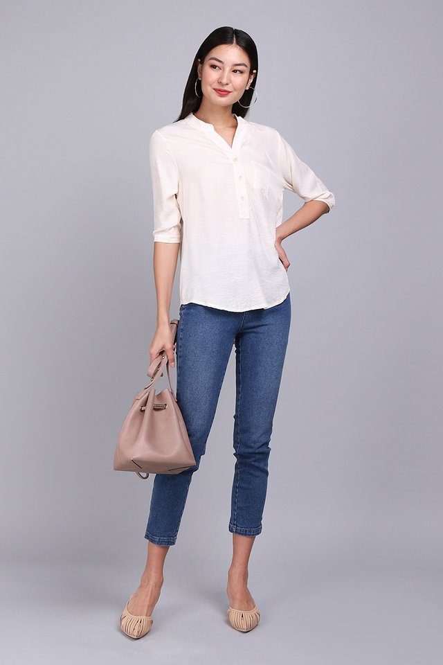 City Dweller Shirt In Cream