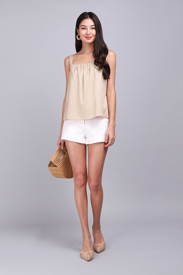 Here Comes Summer Top In Sand